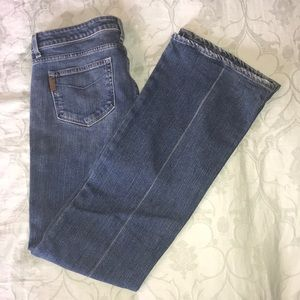Paige Laurel Canyon Bootcut Faded Jeans, size 32